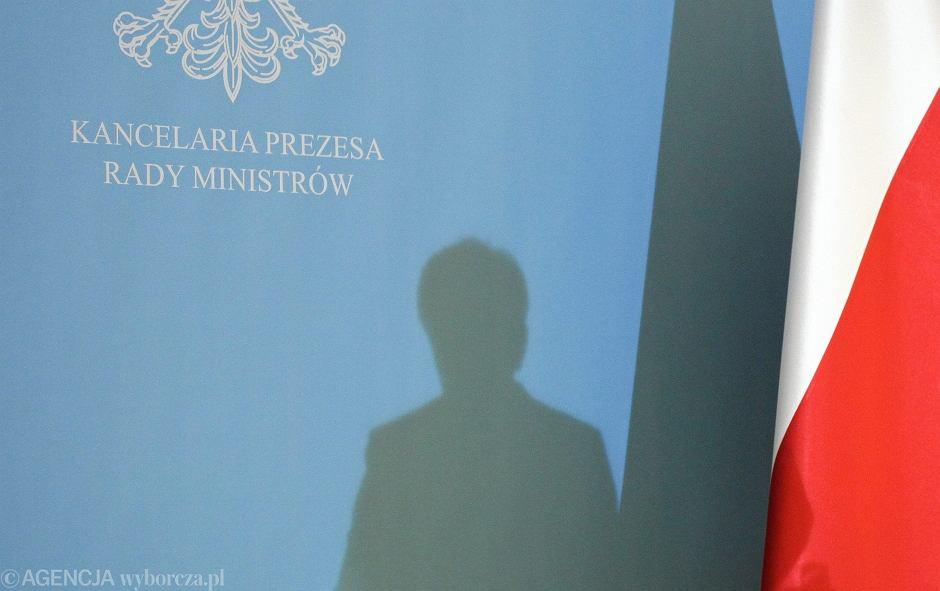 Konferencja Szydło o rekonstrukcji rządu