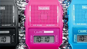 Gadający zegarek z Japonii. Cena: 10 dol.
