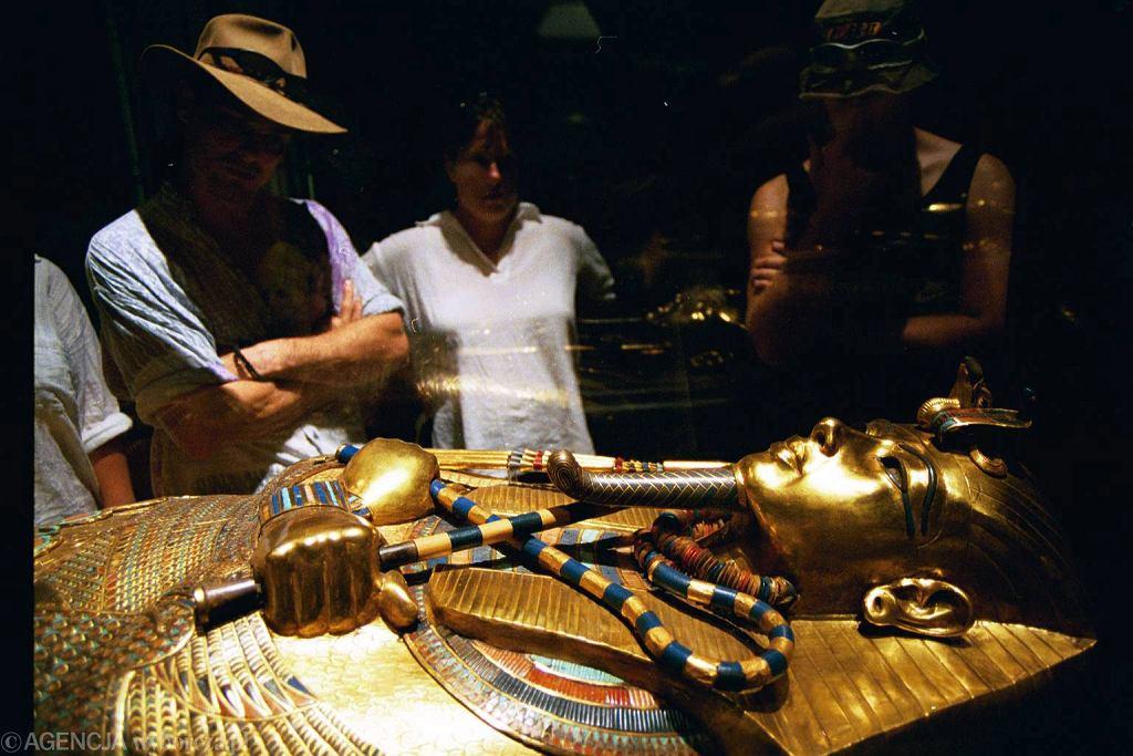 Sarkofag słynnego faraona, chłopca-króla Tutanchamona