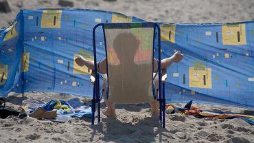 Plażing & parawaning na Helu