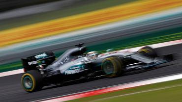 Lewis Hamilton podczas kwalifikacji do F1 Malaysia Grand Prix