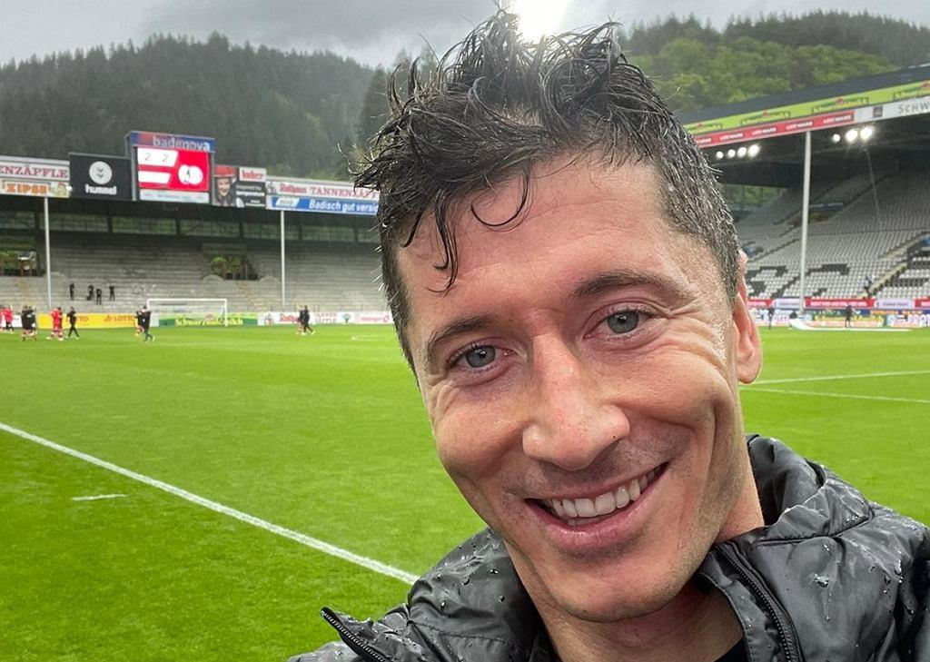 Robert Lewandowski po wyrównaniu rekordu Gerda Muellera