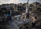 55 rakiet i 100 bomb. Trwa wymiana ognia między Izraelem a Strefą Gazy