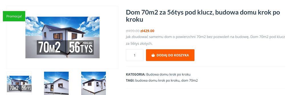 Dom za 56 tys. zł