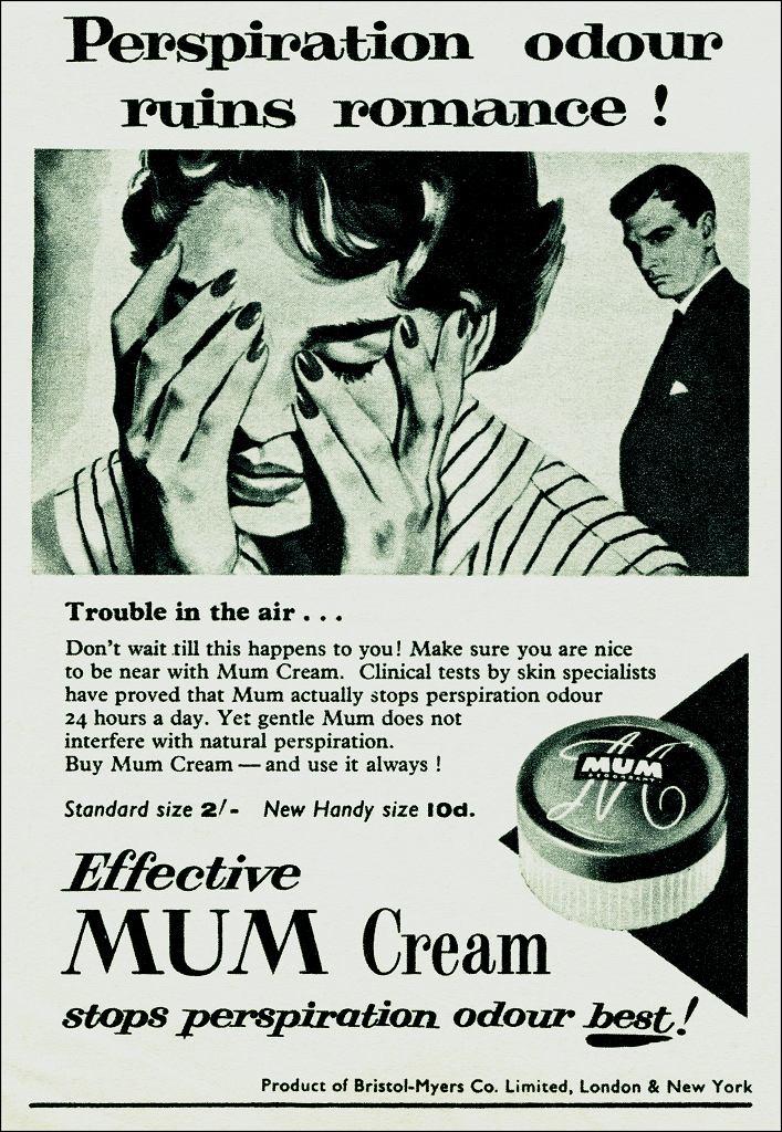 Stara reklama dezodorantu Mum