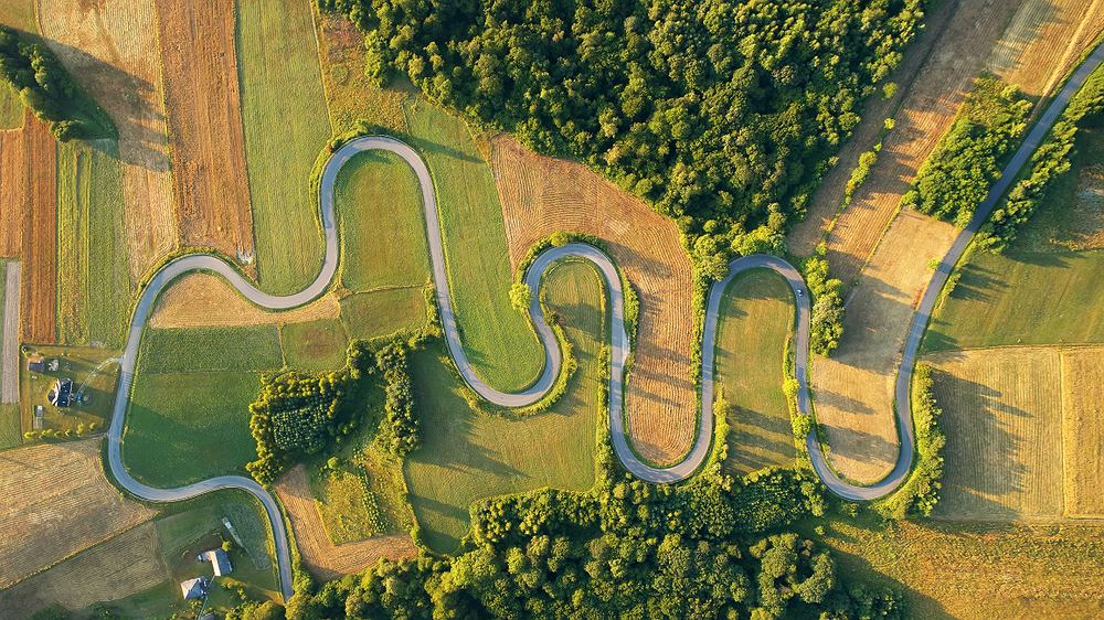 Serpentyny w Górach Słonnych