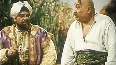 Scena z ekranizacji opery 'Zaporożec za Dunajem' Semen Hułak-Artemowski, 1953 r.