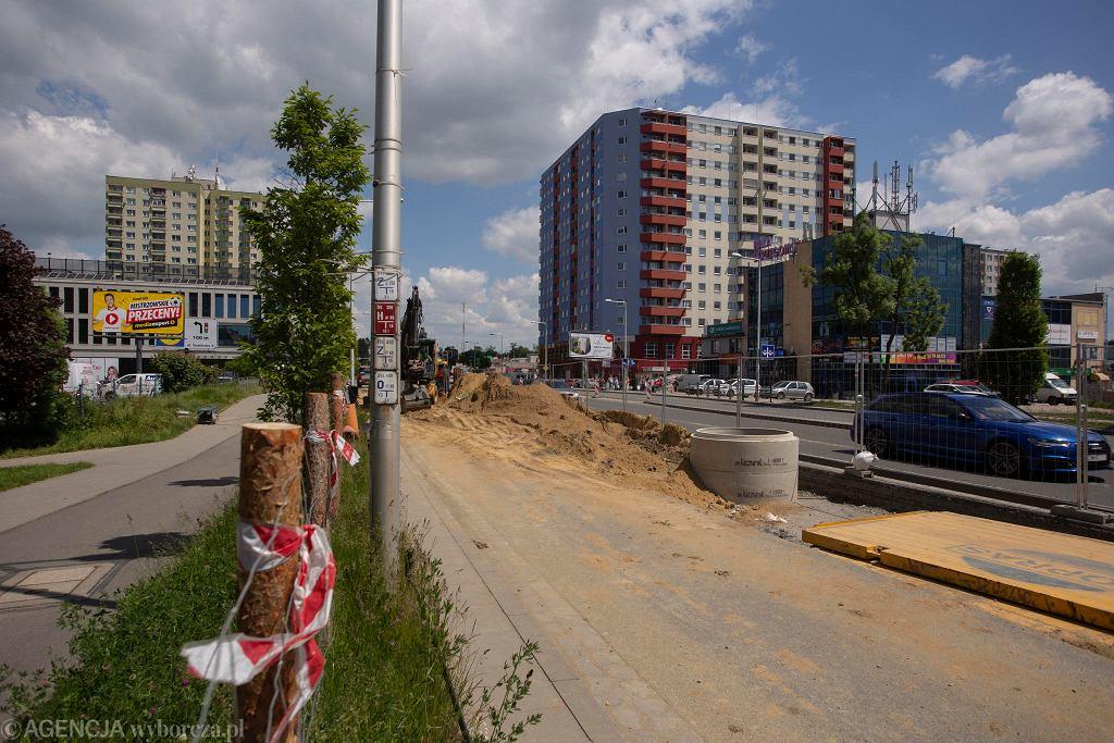 Budowa Trasy Autobusowo-Tramwajowej na Nowy Dwór
