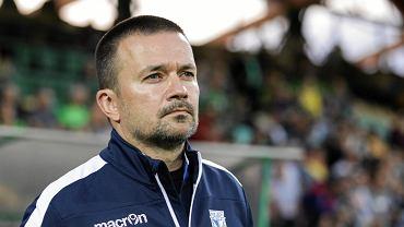 Trener Lecha II Poznań Rafał Ulatowski