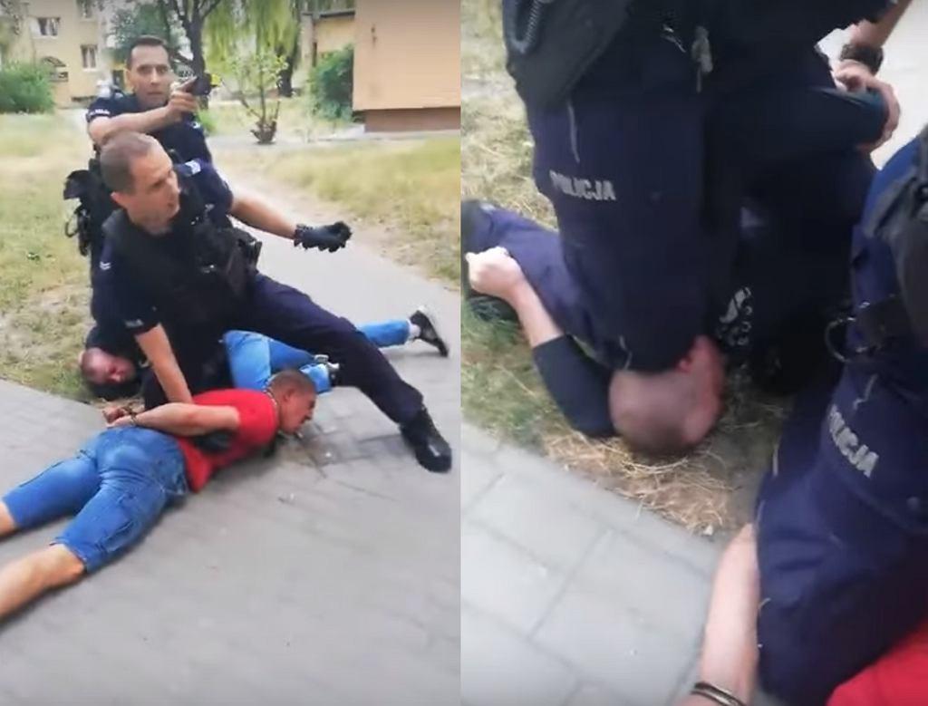 Interwencja policjantów w Lublinie.