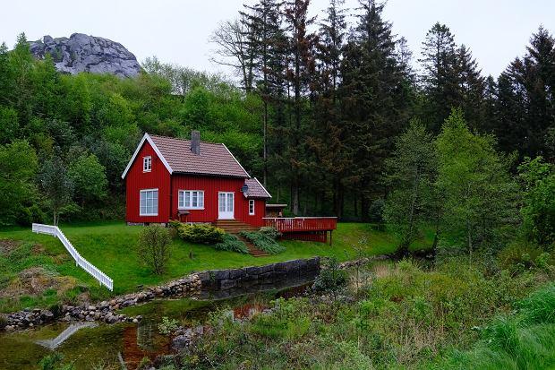 Norweski domek letniskowy