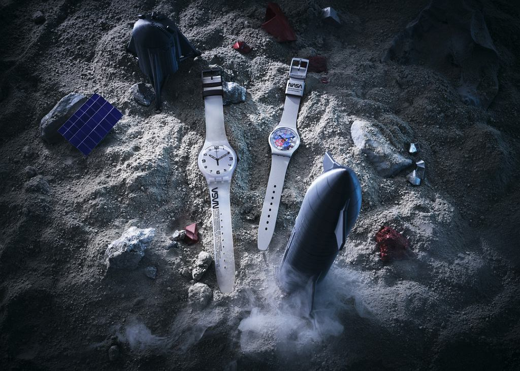 Zegarek inspirowany kombinezonem NASA