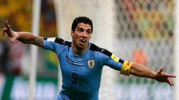 Brazylia - Urugwaj 2:2. Luis Suarez
