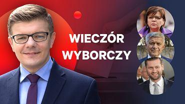 Wieczór wyborczy na Gazeta.pl, Wyborcza.pl i Tokfm.pl