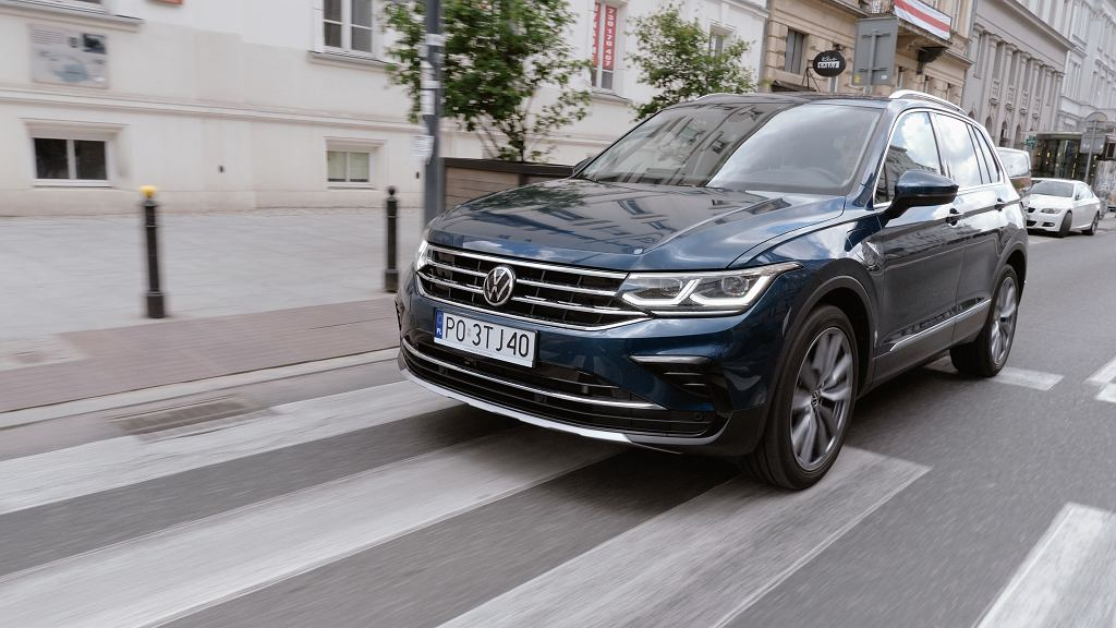 Volkswagen Tiguan eHybrid w Studiu Biznes