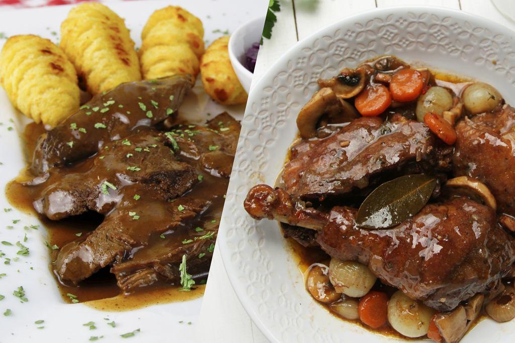 Na murawie dziś Francja-Niemcy, a na Hapsie kulinarne starcie Euro. Kto wygra? Coq au vin czy Sauerbraten?
