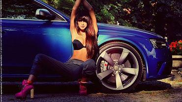 Matylda Wielgosz i Audi RS4 Avant