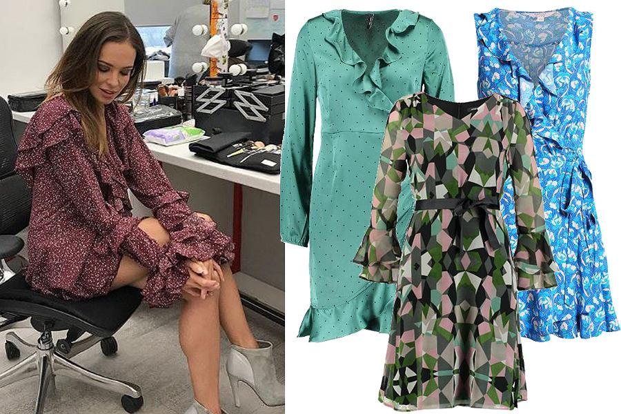 Kolaż, dziewczęce sukienki/Materiały partnera