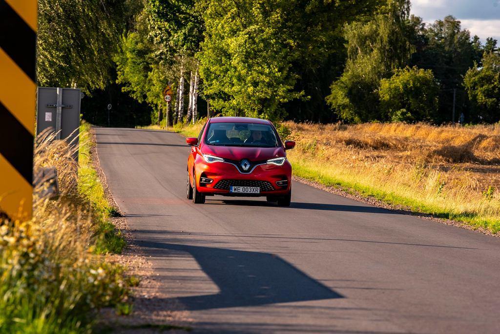 Podróż samochodem elektrycznym Renault Zoe Z.E.50