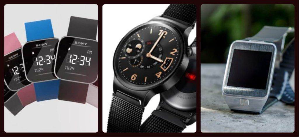 Smartwatche Sony, Huawei, Samsunga