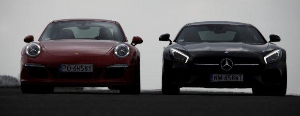 Mercedes-AMG GT S vs. Porsche 911 Carrera 4 GTS