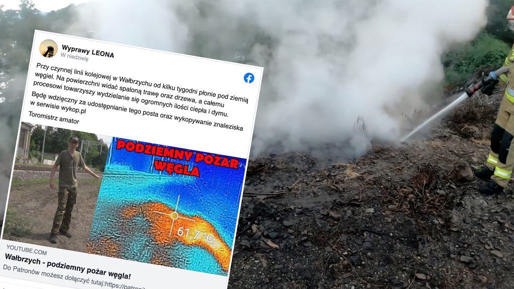 Podziemny pożar węgla