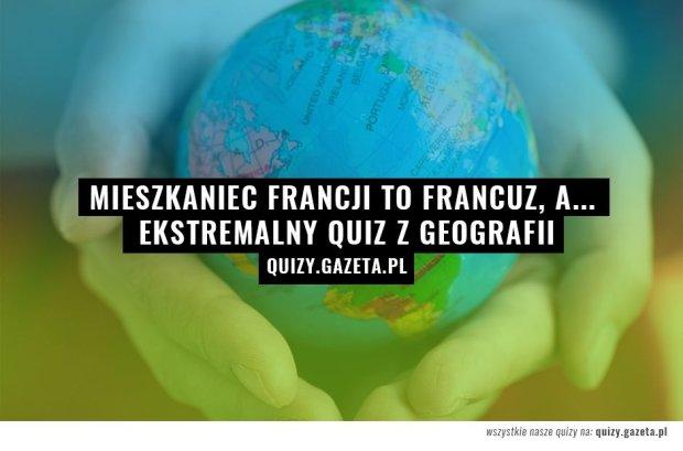 Grafika do quizu: nazwy narodowości