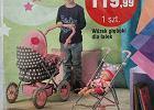 """Gazetka sieci supermarketów, a w niej - chłopiec z wózkiem dla lalek. Blogerka: """"Przysporzy im wrogów"""""""