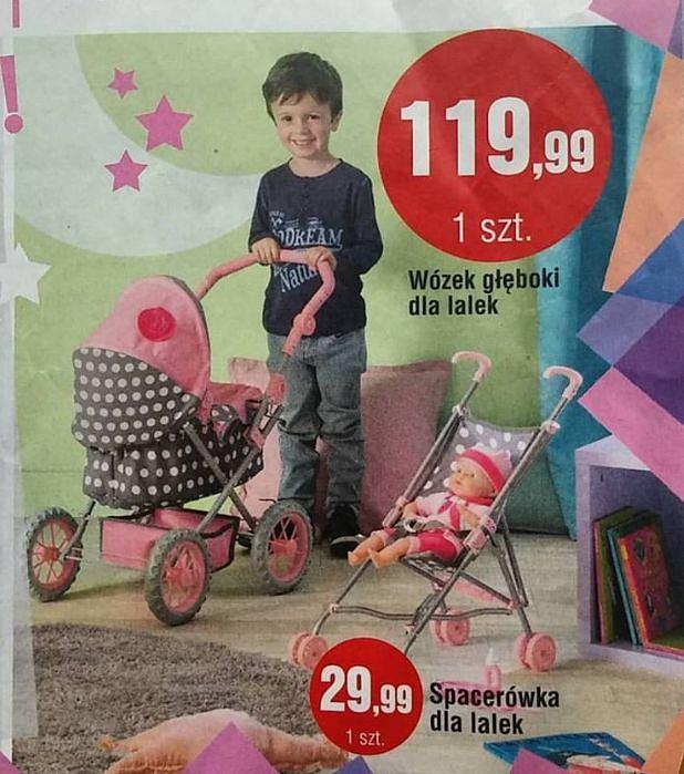 czy chłopcom wolno się bawić wózkami dla lalek? Oczywiście, że tak!