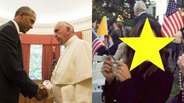 Barack Obama, Papież Franciszek, Eva Longoria