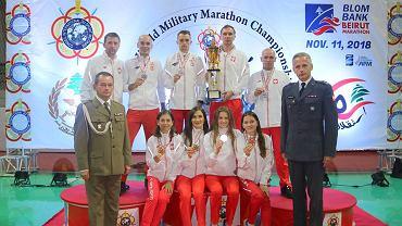 Wojskowe Mistrzostwa Świata w Maratonie. Beirut 2018