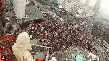 Marsz Niepodległości z góry