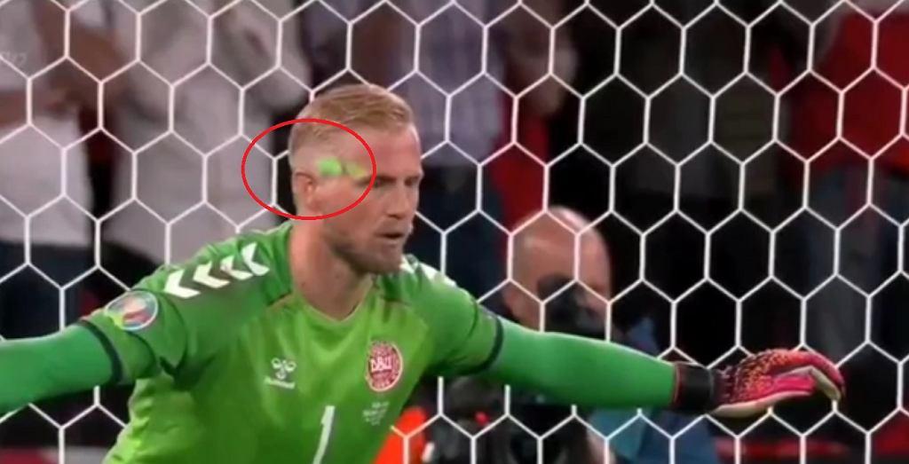 Skandal w meczu Anglii z Danią.