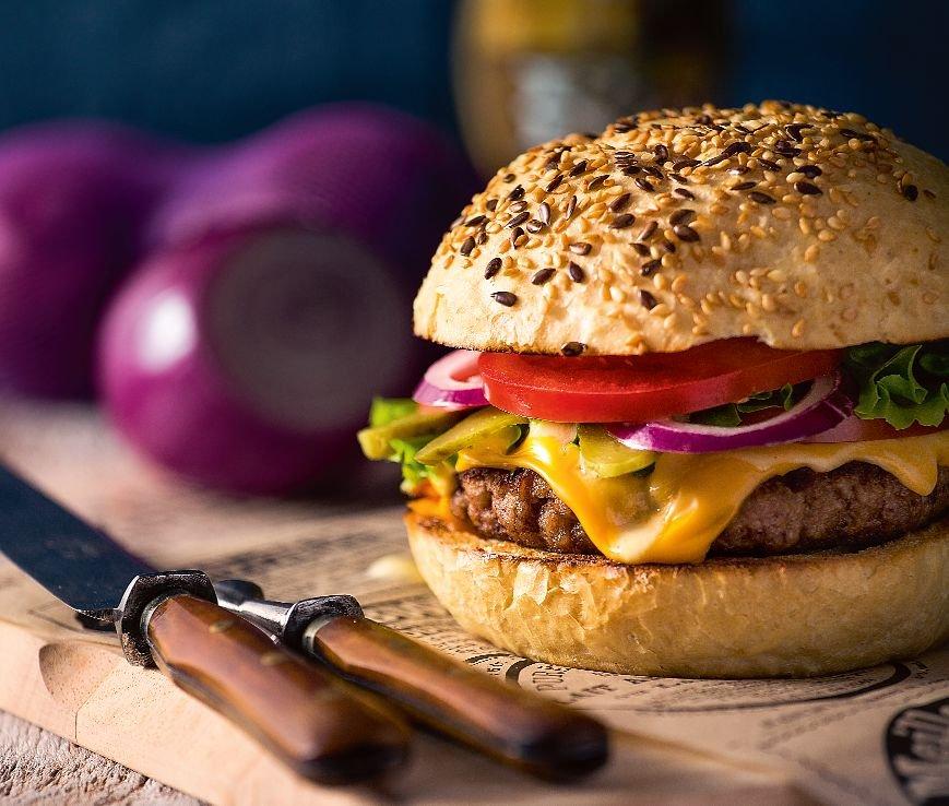 Amerykański burger