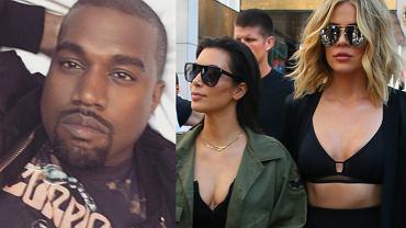 Kanye West/ Kim i Khloe Kardashian