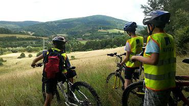 W gminie Walim są świetne trasy rowerowe z wspaniałymi widokami