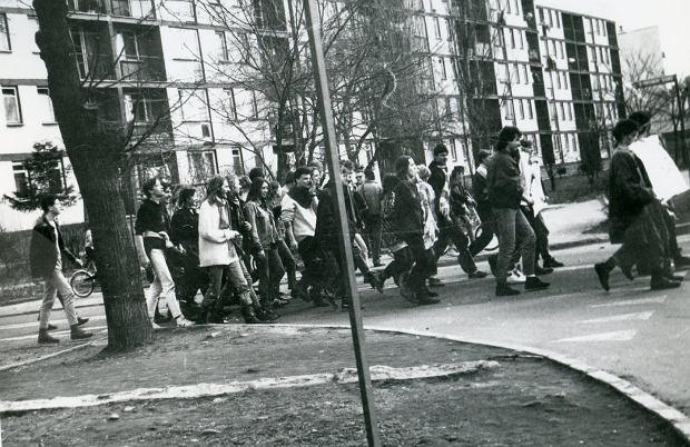 Zdjęcie numer 3 w galerii - Ponad ćwierć wieku temu do Żywca przyjechali hippisi z całej Polski [ARCHIWALNE ZDJĘCIA]