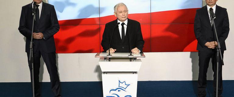 Kaczyński, Morawiecki, Ziobro i Gowin wygłoszą wspólne oświadczenie