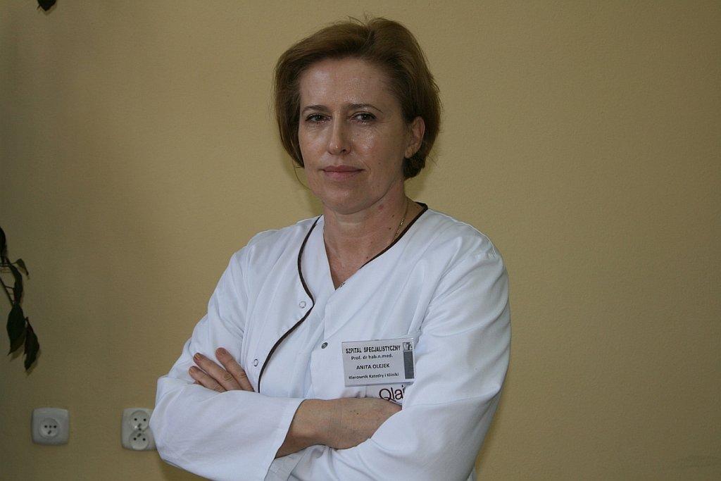 Prof. dr hab. Anita Olejek (fot. Szpital Specjalistyczny nr 2. w Bytomiu)