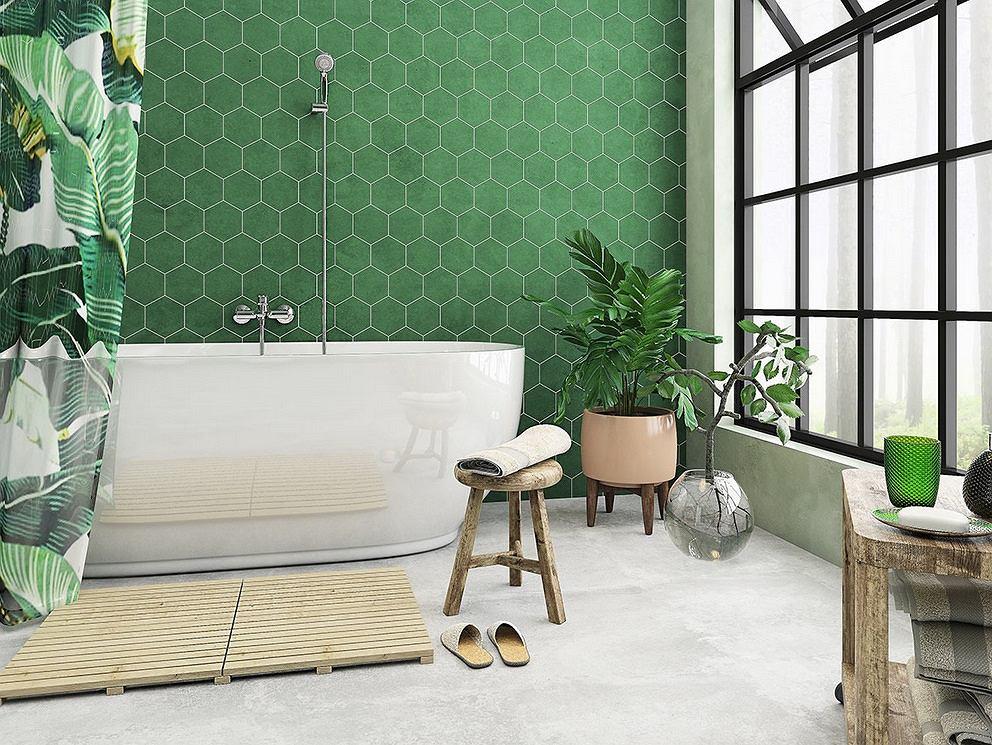 Zielona łazienka Aranżacje Inspiracje Porady