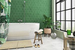 Zielona łazienka: aranżacje, inspiracje, porady