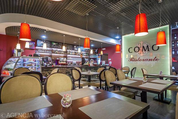 Como Ristorante To Domowa Kuchnia Włoska W Centrum Handlowym