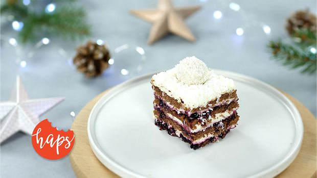 Ciasto Zebra Świąteczna (bez pieczenia)
