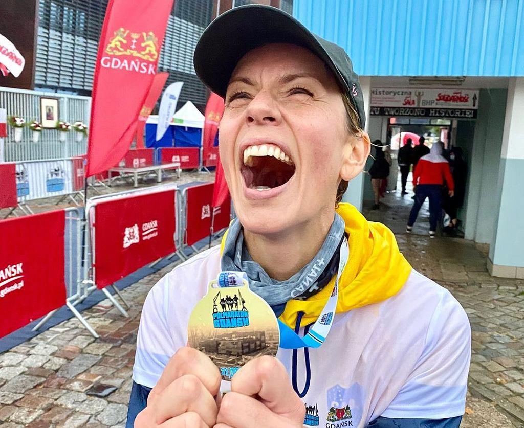 Anita Werner przebiegła półmaraton