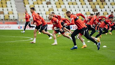 Trening reprezentacji Polski na Stadionie Energa Gdańsk przed meczem z Finlandią