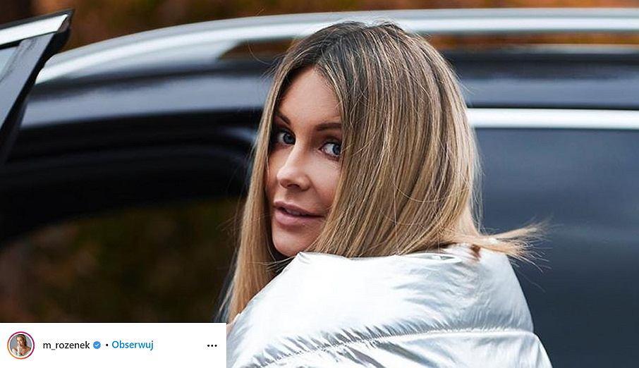 Małgorzata Rozenek-Majdan w oryginalnej kurtce swojego projektu. Fani: 'Jak folia aluminiowa'