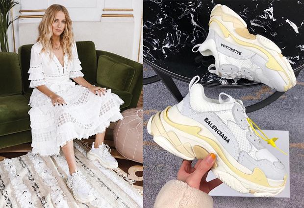Masywne sneakersy Balenciaga to najmodniejsze buty 2018 roku