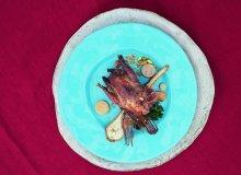 Potrawa zpistacjami  na jajecznicy - ugotuj