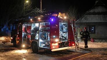 Cztery osoby zginęły w pożarach podczas nocy sylwestrowej