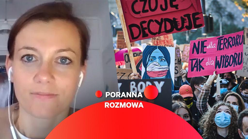 Zuzanna Rudzińska-Bluszcz gościnią Porannej rozmowy Gazeta.pl